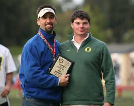 At Oregon, Kerwin was named 2007 PNCLL Coach of the Year