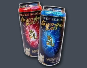 Steven Seagal Energy Drink