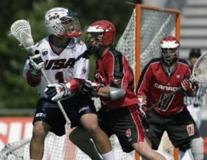 Canada looked good in Warrior as they beat the US in STX