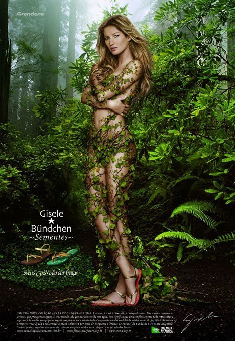 Making a lax stick in the woods with Gisele? Sounds like a great little Saturday.